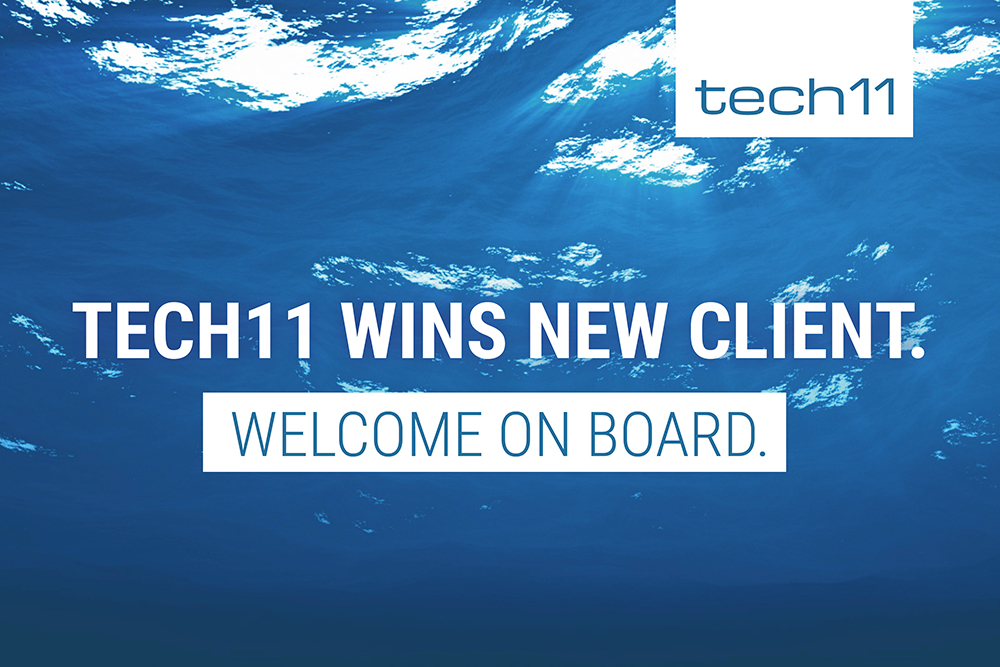 tech11 wins new customer!